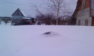 AllSky v1 засыпана снегом (надо поднимать)