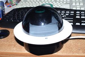 AllSky: QHY5+2.1мм в куполе охранки в сборе