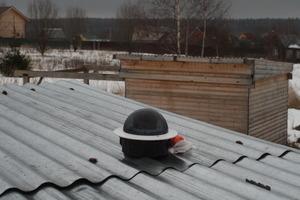 AllSky камера на крыше