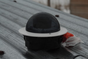 AllSky: установка на крышу бытовки