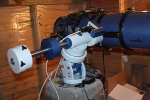 Белый лебедь (WS180) в моей обсерватории