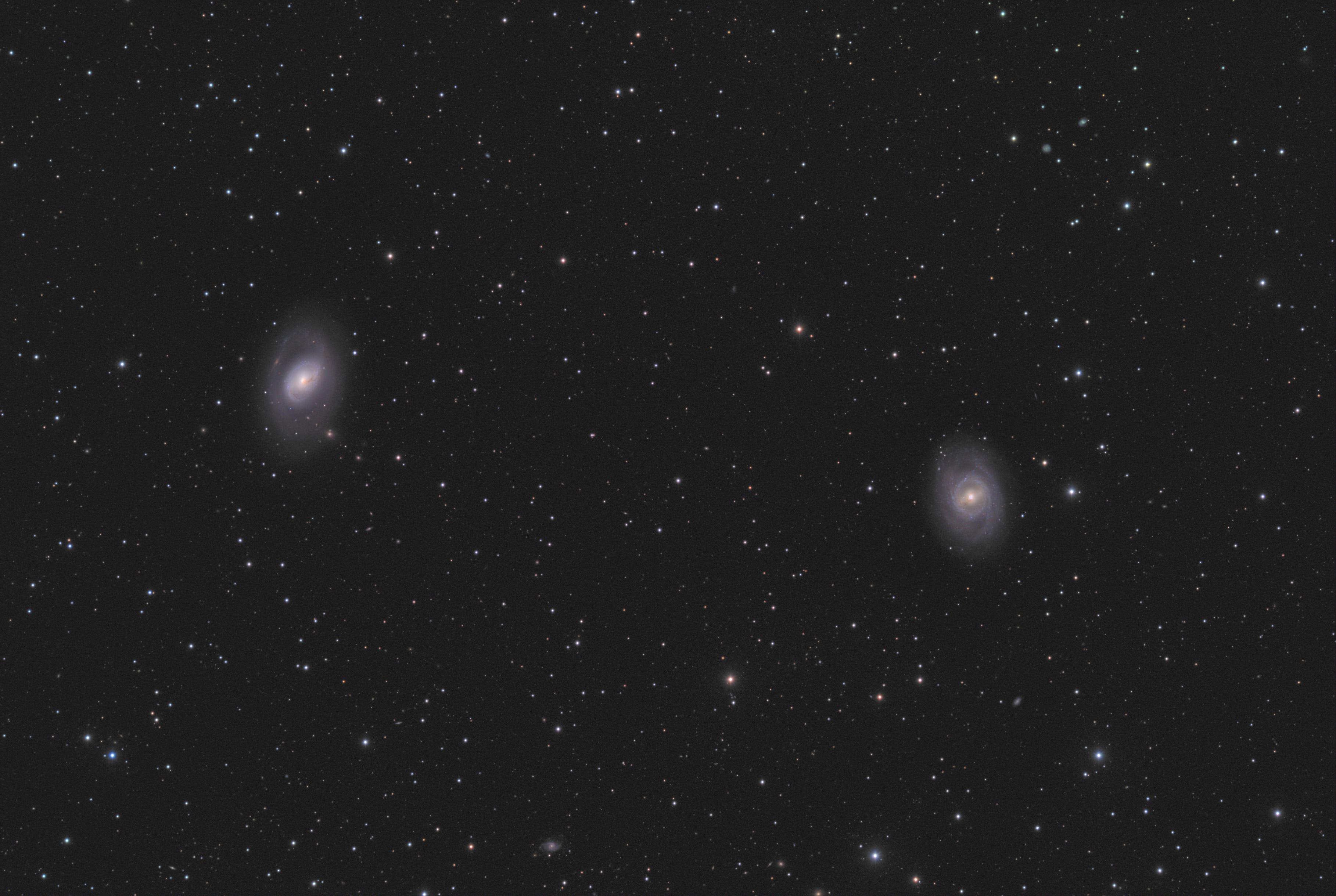 M95M96 12h - Астрофото: M95 + M96.